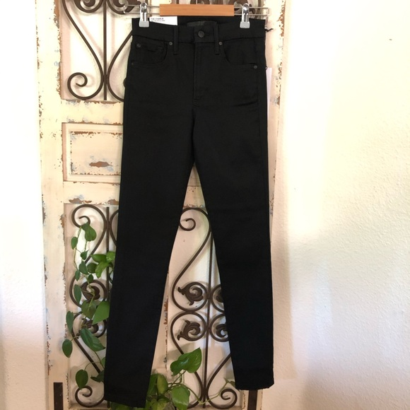 Joes jeans charlie high rise black jeans